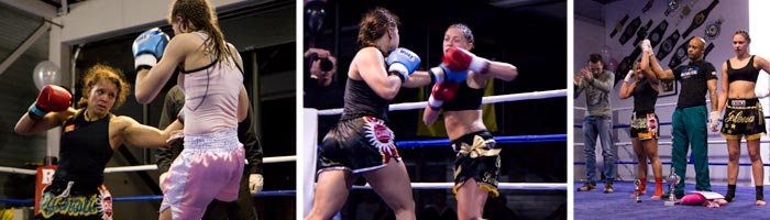 Girls Only Kickboks gala